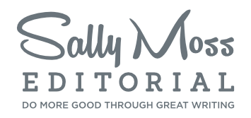 Sally Moss Editorial mobile logo
